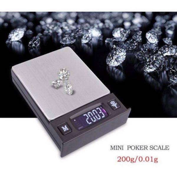 Cantar electronic pentru bijuterii, ecran LCD