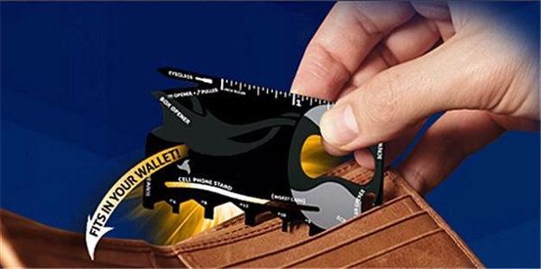accesoriu multifunctional pentru portofel