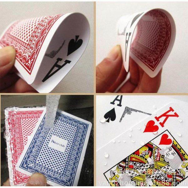 Carti de joc Poker Club, plastic de calitate