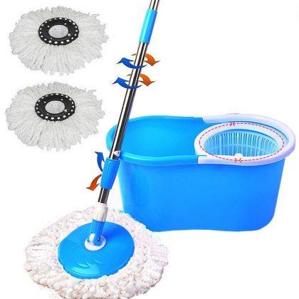 Mop rotativ Easy Clean 360 – set complet curățenie