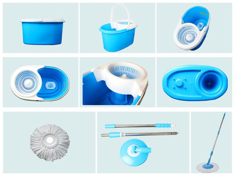 componente set de curatenie cu mop rotativ