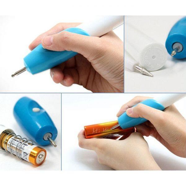 Creion electric pentru gravat metal, lemn, sticla