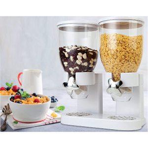 cerealele se mențin proaspete în compartiemntele închise etanș ale dozatorului