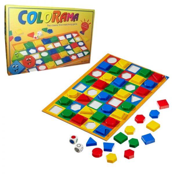 Joc educativ cu forme geometrice pentru copii