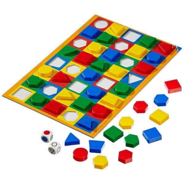 joc educativ pentru copii cu forme geometrice si culori