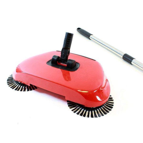 clean sweeper cu perii rotative si maner telescopic