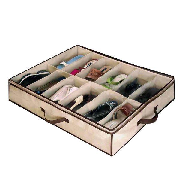 Organizator pantofi, pliabil, 12 compartimente
