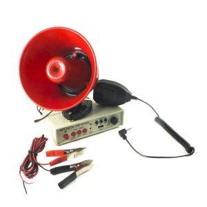 Portavoce megafon auto cu inregistrare, USB, 12V, 25W