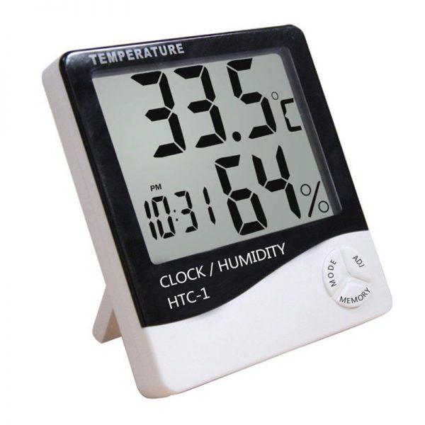 ceas cu termometru si aparat de masurat umiditatea