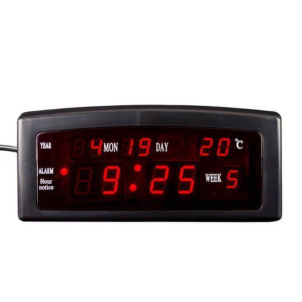 Ceas electronic de masa, alarma, termometru si calendar, 909A