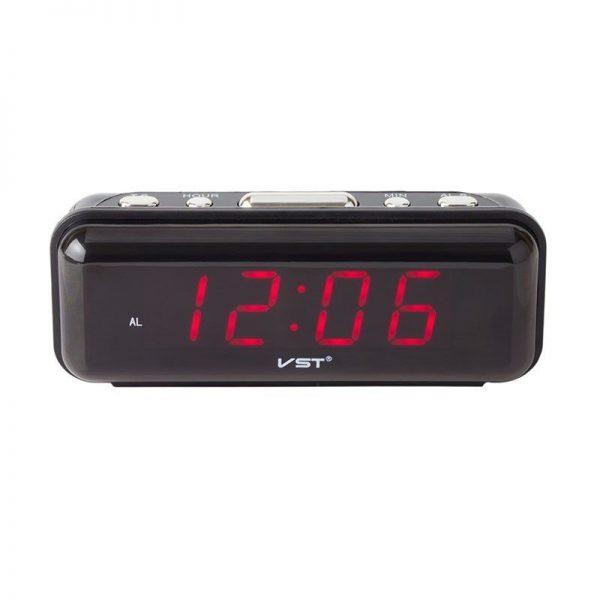 Ceas digital LED, afisaj electronic si alarma, VST-738