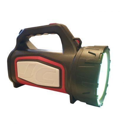 Lanterna LED cu acumulator, 25W, lumini laterale