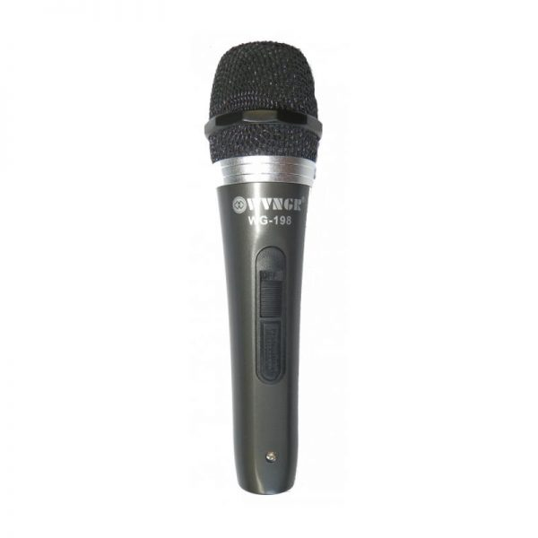 Microfon dinamic profesional cardioid, cu fir, WG-198