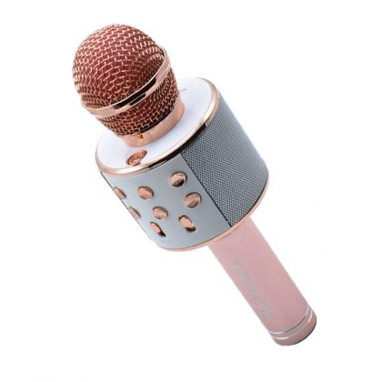 Microfon karaoke fara fir, WS-858, cu acumulator