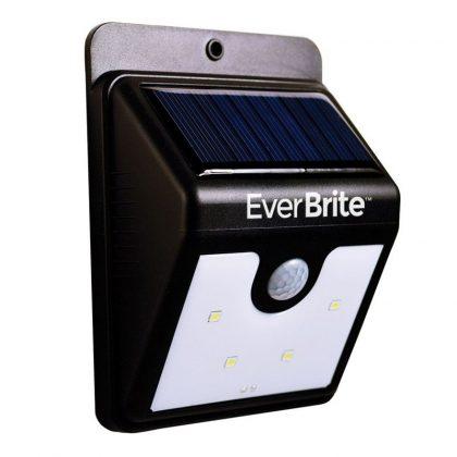 Lampa cu incarcare solara si senzor de miscare 4xLED