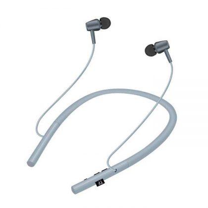 Casti bluetooth wireless cu magnet, stereo