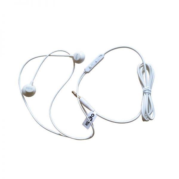 Casti cu fir si microfon, in-ear, control volum, KS-11