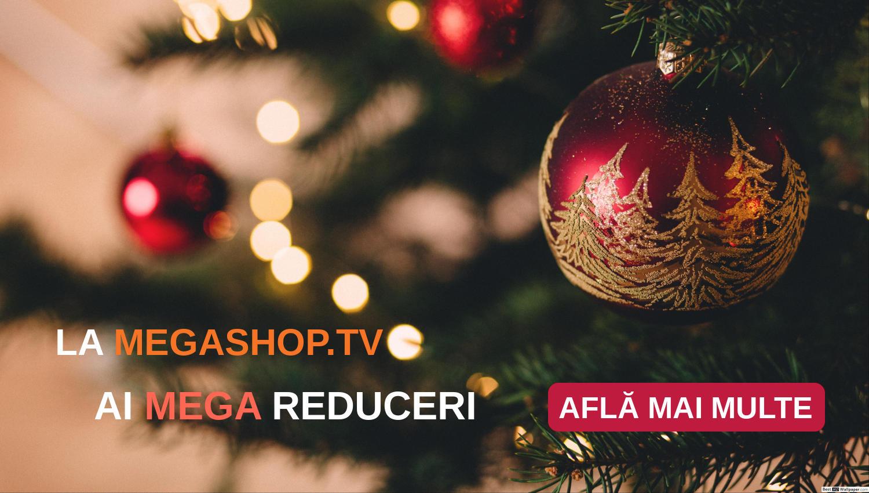 La Megashop.tv iarna vine cu oferte speciale: mega reduceri la produse de curatenie, cadouri frumoase, preturi mici pentru ce ai nevoie la bucatarie si transport mega ieftin