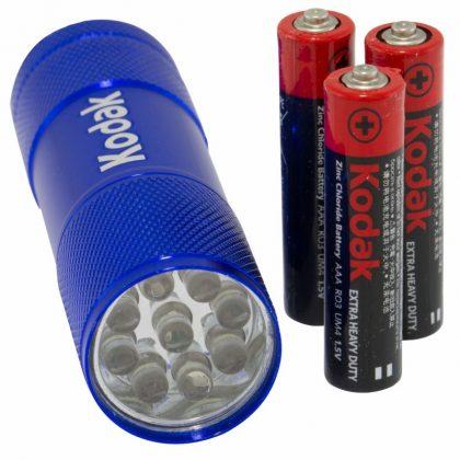 Lanterna Kodak 9 Leduri, 46 lumeni, baterii incluse
