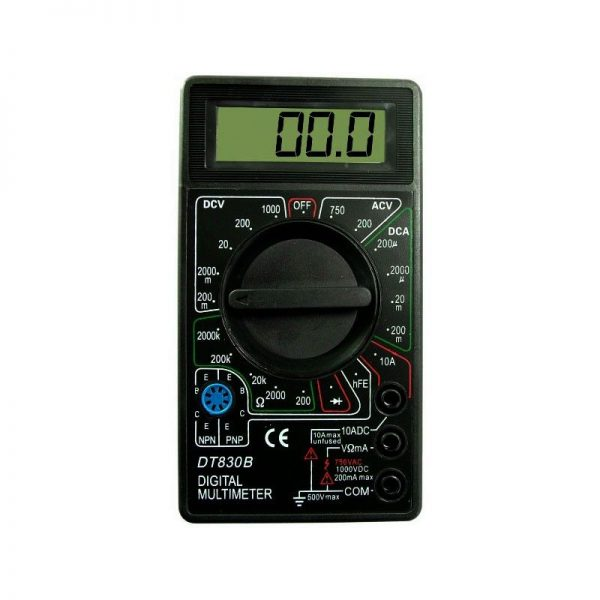 Multimetru digital, aparat de masura cu afisaj LCD
