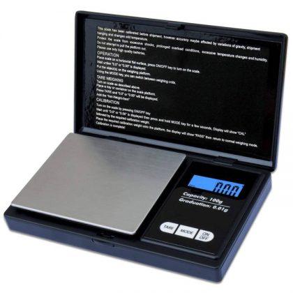 Cantar electronic bijuterii, LCD, max 100 g