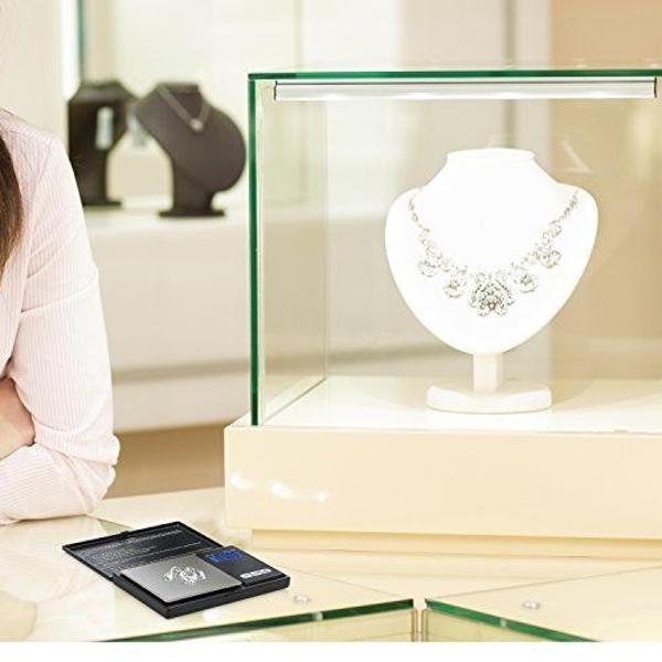 Cantar electronic bijuterii, ecran LCD, max 100 g