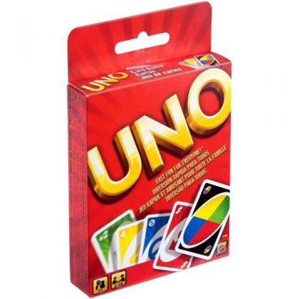 Joc de carti Uno, joc de societate pentru copii