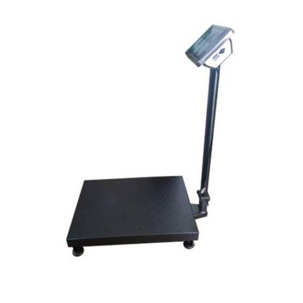 Cantar electronic cu platforma 500 kg, LCD, brat pliabil si platan metalic