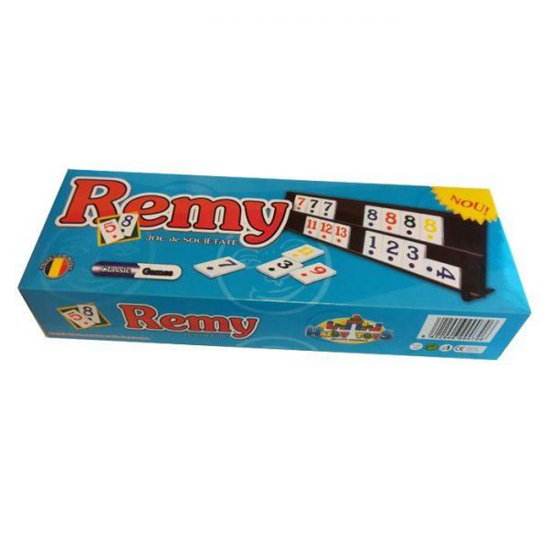 Joc de remi mic din plastic 30x10x5cm, rummy