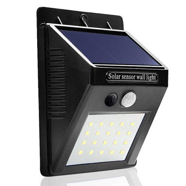 Lampa cu incarcare solara si senzor de miscare Solar Motion 20 LED-uri