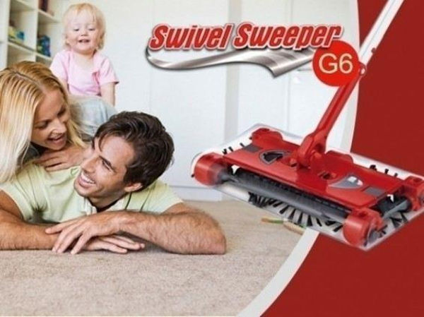 Matura electrica fara fir Swivel Sweeper G6