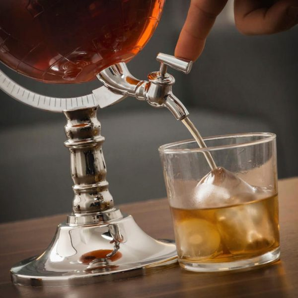 Dozator bauturi in forma de glob pamantesc 3.5 litri